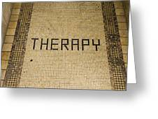 Tile Therapy Greeting Card