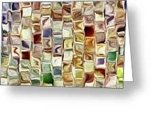 Tiled Abstract Greeting Card