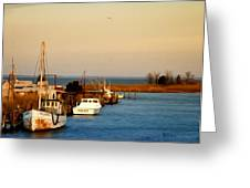 Tilghman Island Maryland Greeting Card