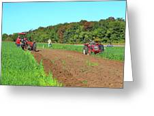 Tilled Soil   Greeting Card