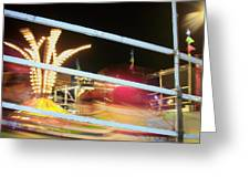 Tilt-a-whirl 2 Greeting Card