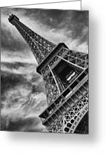 Tilted Tower Greeting Card