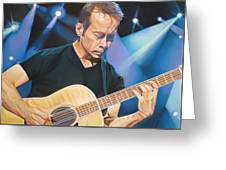 Tim Reynolds And Lights Greeting Card