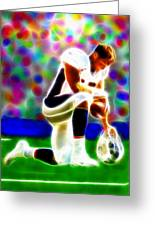 Tim Tebow Magical Tebowing 2 Greeting Card