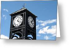 Time And Time Again Greeting Card