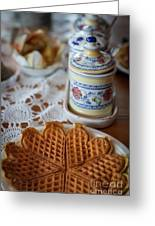 Time For Waffle Greeting Card