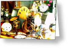 Time In A Jar Greeting Card