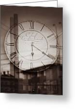 Time Is Infinite Greeting Card