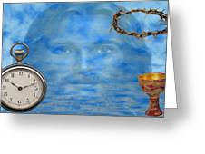 Time Is Ticking Greeting Card