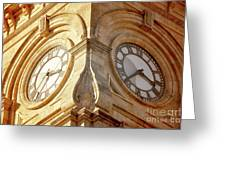 Time On My Side Greeting Card