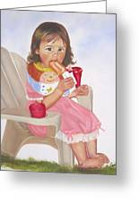Time Out For Ice Cream Greeting Card