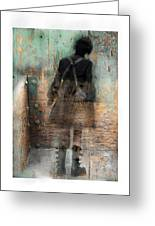 Time Passages - Beyond All Barriers Greeting Card by Bob Salo