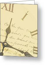 Time Signatures Greeting Card