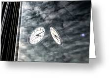 Time, Time Greeting Card