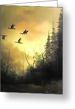 Time To Fly  Greeting Card