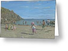 Time To Go Home - Porthgwarra Beach Cornwall Greeting Card