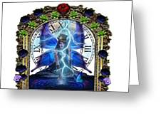Time Travel Fairy Greeting Card