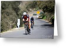 Time Trial 10 Greeting Card