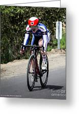 Time Trial 24 Greeting Card