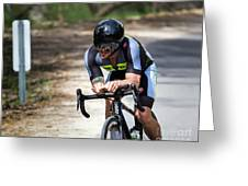 Time Trial 30 Greeting Card