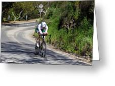 Time Trial 8 Greeting Card