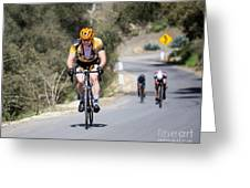 Time Trial 9 Greeting Card