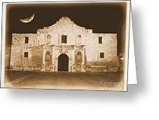 Timeless Alamo Greeting Card