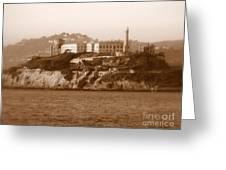 Timeless Alcatraz Greeting Card