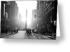Timeless Buenos Aires Greeting Card