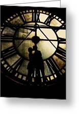 Timeless Love - Golden Brown Greeting Card