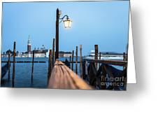 Timeless Venice Greeting Card