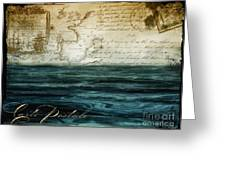 Timeless Voyage II Greeting Card