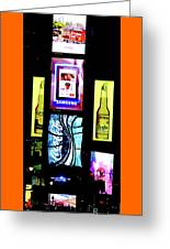 Times Square, Christmas Eve, 2011 Greeting Card