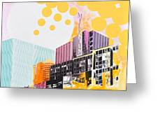 Times Square Milenium Hotel Greeting Card