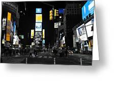 Times Square New York City Big Apple Greeting Card