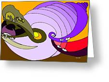Timespiral Greeting Card