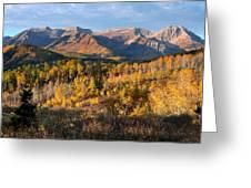 Timpanogos Autumn Sunrise Greeting Card