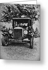Tin Lizzy - Ford Model T Greeting Card