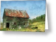 Tin Roof Greeting Card