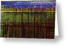 Tin Roofs Greeting Card
