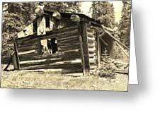 Tincup History Greeting Card