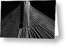 Ting Kau Bridge Hong Kong Greeting Card