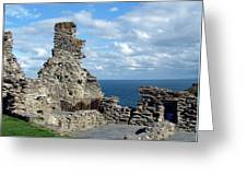 Tintagel Castle 1 Greeting Card