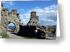 Tintagel Castle 2 Greeting Card