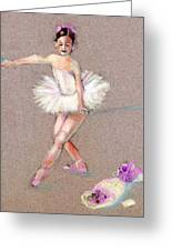 Tiny Dancer Greeting Card