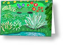 Tiny Garden  Greeting Card