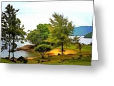 Tioman Island Beach Greeting Card
