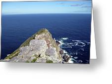 Tip Of Africa Greeting Card