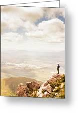Tip Of Mt Zeehan Tasmania  Greeting Card