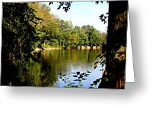 Tippecanoe River By Earl's Photography Greeting Card